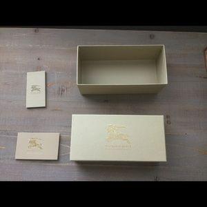 Original Burberry sunglass box with envelope
